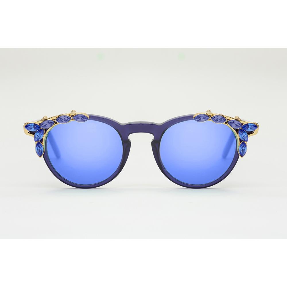 Gafas de sol Massada - SWAN LAKE BLUE SILVER FRENCH